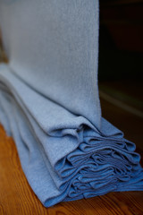 Finishing of a craft wool fabric after ironing