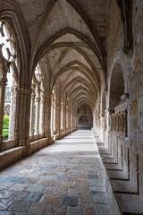 Details of the Monastery of Santes Creus 12th century Cistercian abbey (Tarragona-Spain)