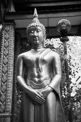 sculpture of Buddha sign of