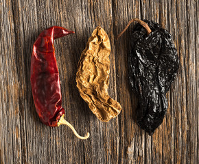 Mexican Food Ingredients: Ancho, Chipotle, Guarjillo, Chile Peppers