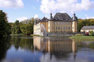 Foto auf Leinwand Schloss schloss dyck