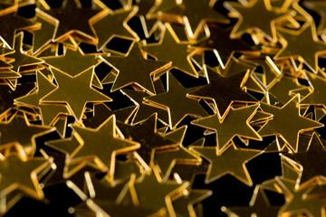 Background Golden Stars
