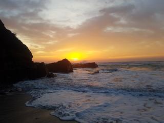 In de dag Baksteen Beautiful Transkei morning