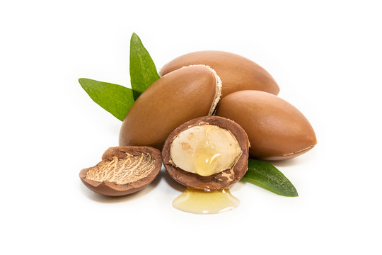 Argan seeds, for the production of oil. Very nutritious for skin and hair