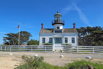 Point Pinos lighthouse in Pacific Grove, California