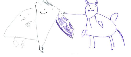 Sankt Martin, sein Pferd und der arme Mann