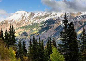 The San Juan Mountains in Colorado