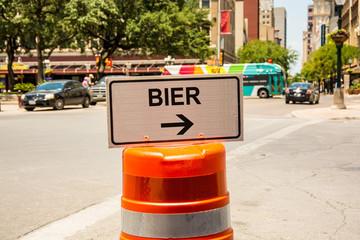 Schild 292 - Bier