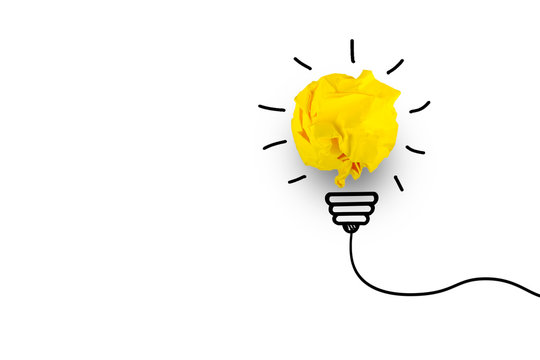 Creative idea. Concept of idea, innovation and Inspiration