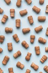 Champagne cork background