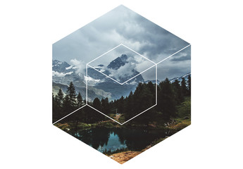 Hexagonal Image Masks