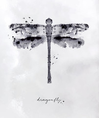 Monotype dragonfly black