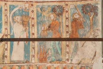 Fresken in St. Georg bei Rhäzüns, Graubünden