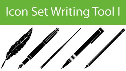 Icon Set Writing Tool I