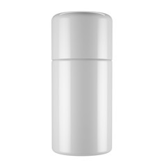 Cosmetic bottle template