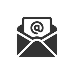 Email 01 Glyph - Newsletter Mail Icons