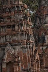 Ayutthaya Leaning Ruin