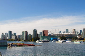 Wall Mural - False Creek, Vancouver