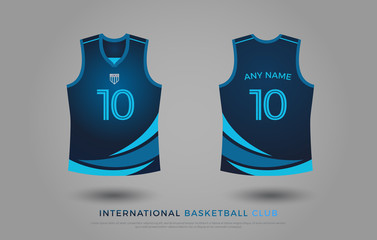 7b9f05114 basketball t-shirt design uniform set of kit. basketball jersey ...