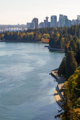 Wall Mural - Stanley Park and the City