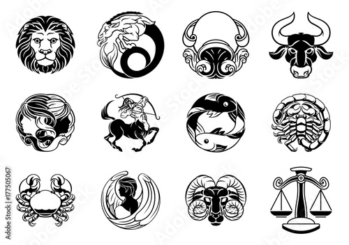 Zodiac signs characteristics
