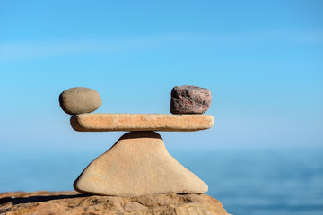 Harmony balance of stones