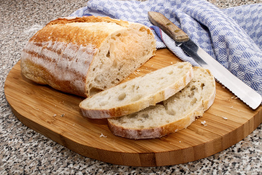 home baked irish sourdough bread