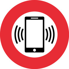 Mobil Telefon Klingelton Verboten