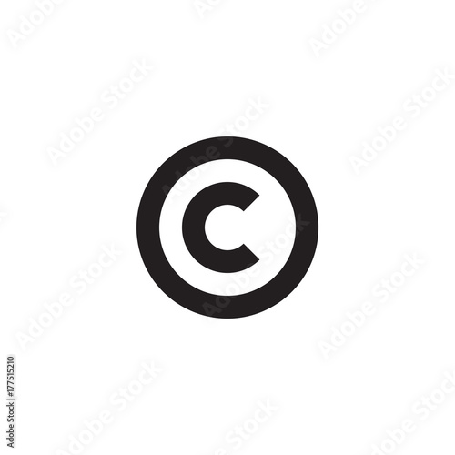Initial Letter Oc Co C Inside O Linked Line Circle Shape Logo
