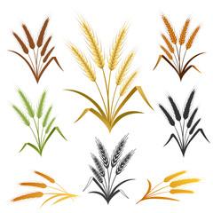 Wheat Ears Emblem Set