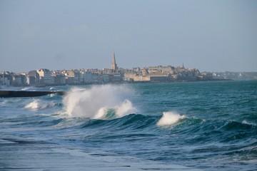 Saint Malo Grandes marées