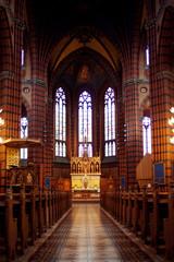 Gothic Church in Stockholm, Sweden.