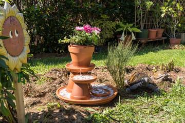 Springbrunnen selbst bauen  Bilder und Videos suchen: