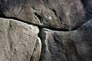 Rocher en Grès en forêt de Fontainebleau