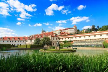 The Hercules' Fountain in Wallenstein Garden and Prague Castle