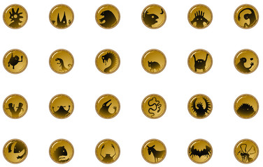 Creature Shadow Button Icons
