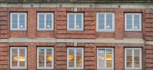Fenster eines historischen Hauses