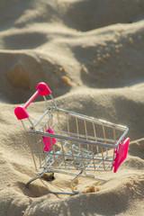 chariot dans le sable