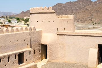 Foto auf Leinwand Befestigung Al Bithnah Fort, Fujairah, UAE