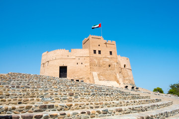 Photo sur Aluminium Fortification Fujairah Fort, United Arab Emirates