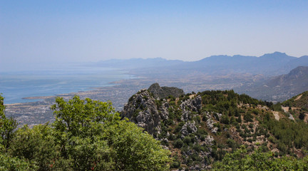 View from Saint Hilarion