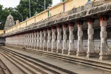 View of Nataraja temple, Chidambaram, Tamil Nadu, South India