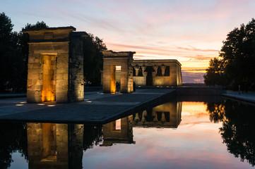 Temple d'Amon (de Debod), Madrid, Espagne