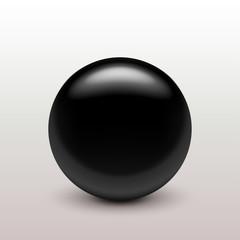 black clear ball