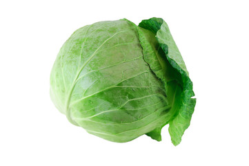 close up on fresh cabbage