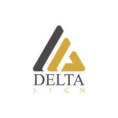 Delta sign logo