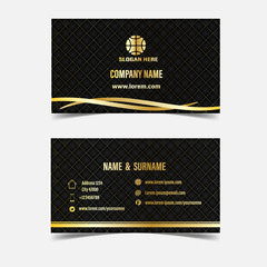 Modern vip cards with golden.Vector illustration,