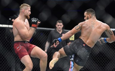 MMA: UFC Fight Night-Gdansk-Blachowicz vs Clark