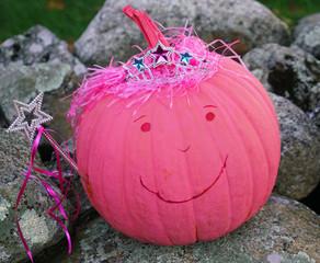 Home made pumpkin artworks for Halloween decoration