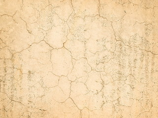 Beautiful old wall with cracks and texture
